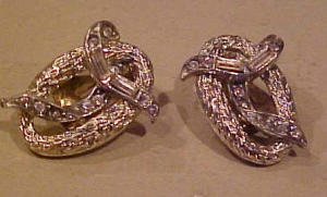 Kramer rhinestone earrings (Image1)