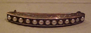 14k green gold victorian brooch with pearls (Image1)