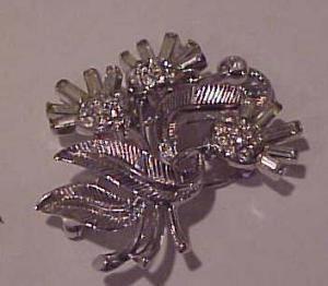 rhinestone flower pin (Image1)