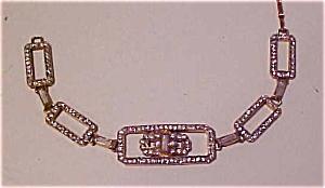 Czech bracelet with rhinestones (Image1)