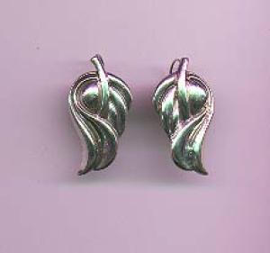 Mexican silver earrings (Image1)