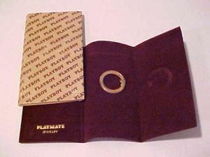 Playboy playmate pin in original package. (Image1)