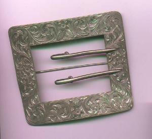 Victorian Sterling sash Ornament (Image1)