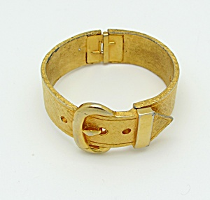 Van S. Authentics Hinged Buckle Bangle