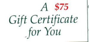 $75 Gift Certificate (Image1)
