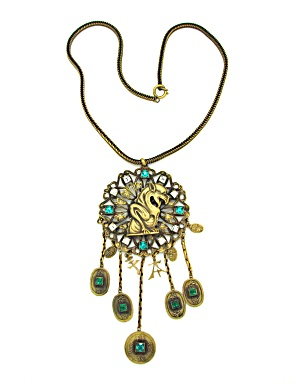 Joseff Asian Design Necklace (Image1)