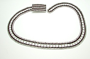 Red and Clear Rhinestone Belt (Image1)