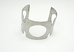 Hammered Cut Out Cuff