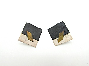Modern Design Metal Earrings