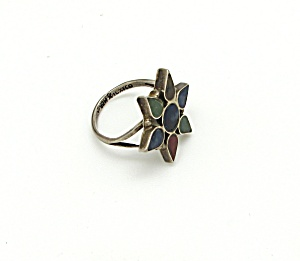 Mexican Sterling Star Ring (Image1)