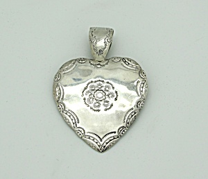Native American Heart Pin/Pendant (Image1)