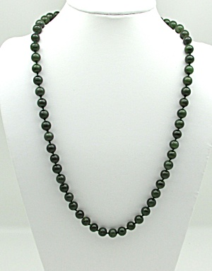 Green Feldspar Bead Necklace (Image1)