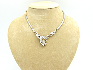 Trifari Floral Necklace (Image1)