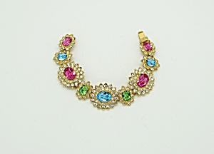 Kenneth Lane Rhinestone Bracelet   (Image1)