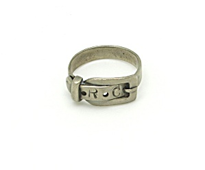 Silver Buckle Ring (Image1)