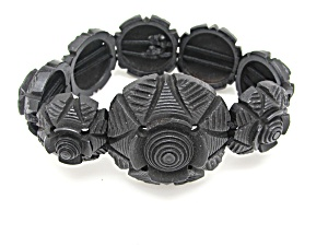Gutta Percha Victorian Bracelet   (Image1)