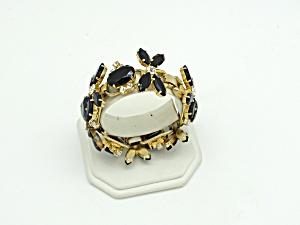 Juliana Floral Rhinestone Bracelet (Image1)