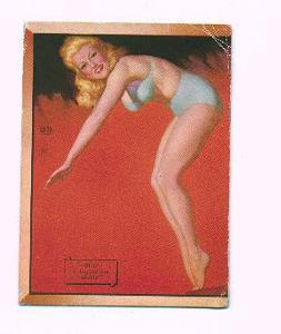 Earl Moran pin up card - Shall I Display my ability (Image1)