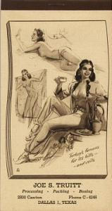 Munson pinup notepad 1946 (Image1)