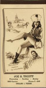 Munson pin up notepad 1946 (Image1)