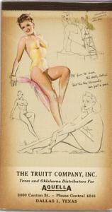 Munson pinup notepad 1947 (Image1)