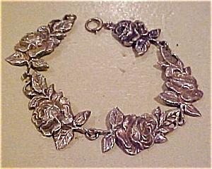 Sterling rose bracelet (Image1)