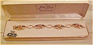 Van Dell Bracelet w/rhinestones in box (Image1)