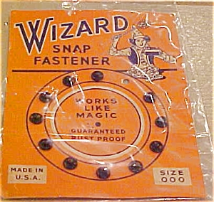 Wizard snap fasteners (Image1)