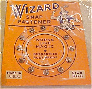 Wizard snap fastener (Image1)