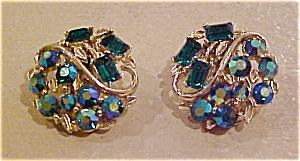 Lisner rhinestone earrings (Image1)