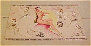 Munson pinup souvenir postcard (Image1)
