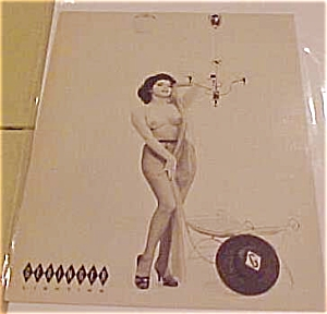 Geringer Lighting Advertising pin up card (Image1)
