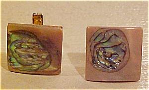 Abalone cufflinks (Image1)