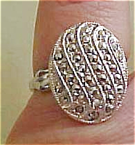 Sterling Theda Ring