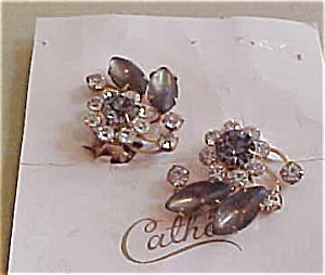 Cathe flower earrings (Image1)