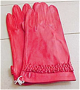Charles Jourdan leather gloves (Image1)