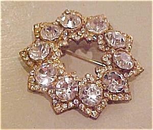 Rhinestone star pin (Image1)