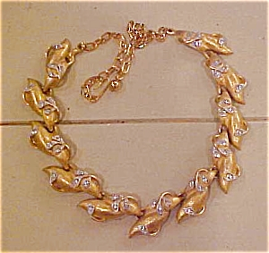 BSK necklace with rhinestones (Image1)