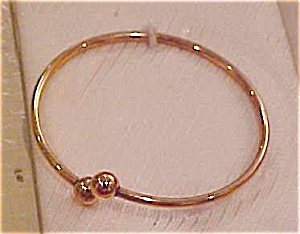 Child's gold filled bangle (Image1)