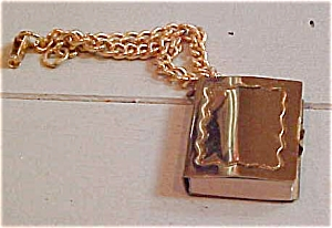 Charm bracelet with book charm (Image1)