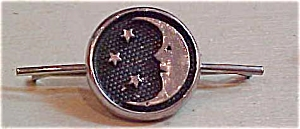 Moon and star tie bar (Image1)