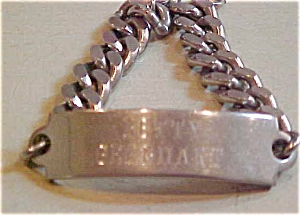 Betty Gearheart ID bracelet (Image1)