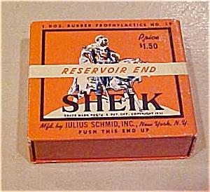 Sheik Resevoir End Condom box (Image1)