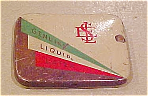 Genuine Liquid Latex Condom Tin