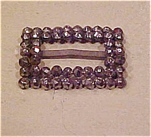 Steel cut buckle - victorian (Image1)