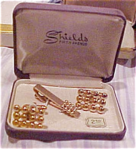 Shields Fifth Avenue cufflinks (Image1)