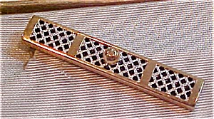 Funky plaid tie bar (Image1)
