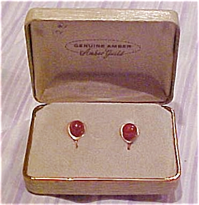Amber guild amber earrings (Image1)