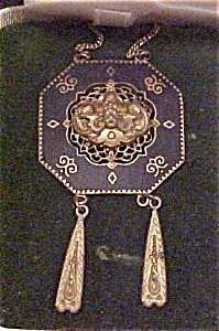 Karen Lynne necklace with cherub (Image1)