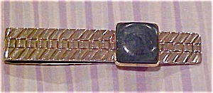 Tie bar with malachite (Image1)